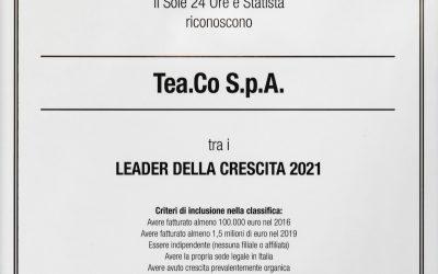 LEADER DELLA CRESCITA 2021